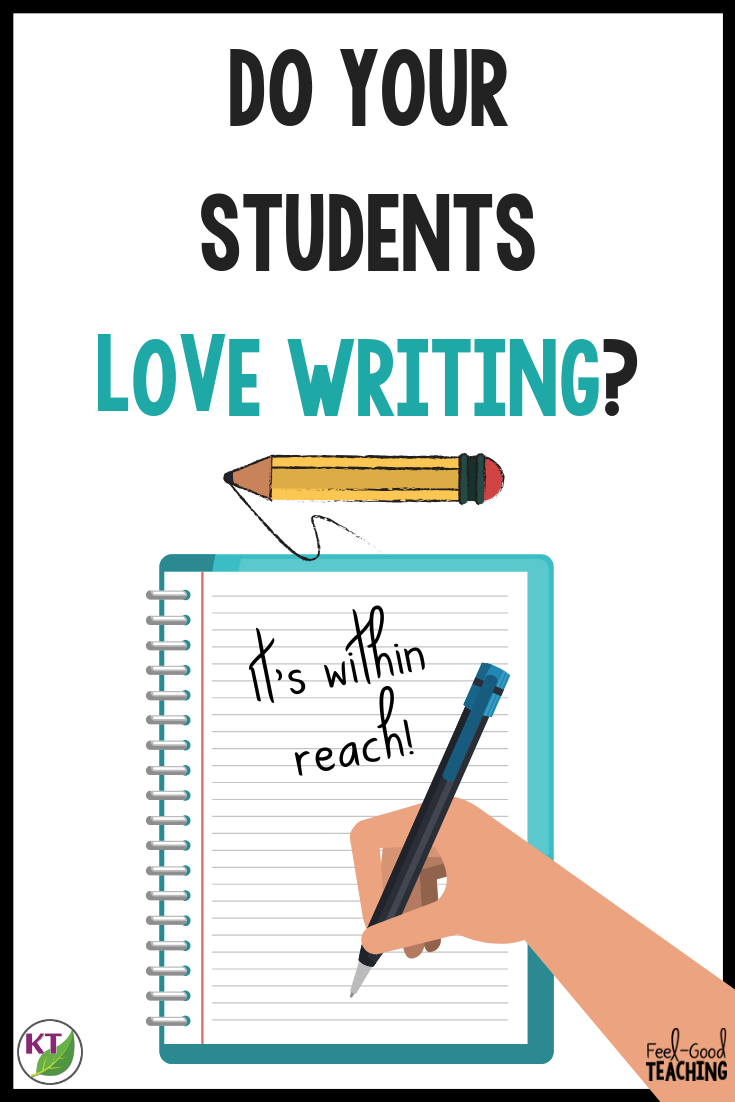 Are your writing prompts stale? Has teaching writing got you frustrated? Students can learn to love to write, sometimes they just need a little inspiration. Head over to the blog to find some high-interest writing prompts and tips to use them to spark your students' imagination and creativity!