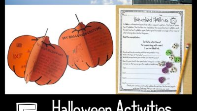 Halloween Activity for Communication