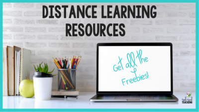 Distance Learning Freebies